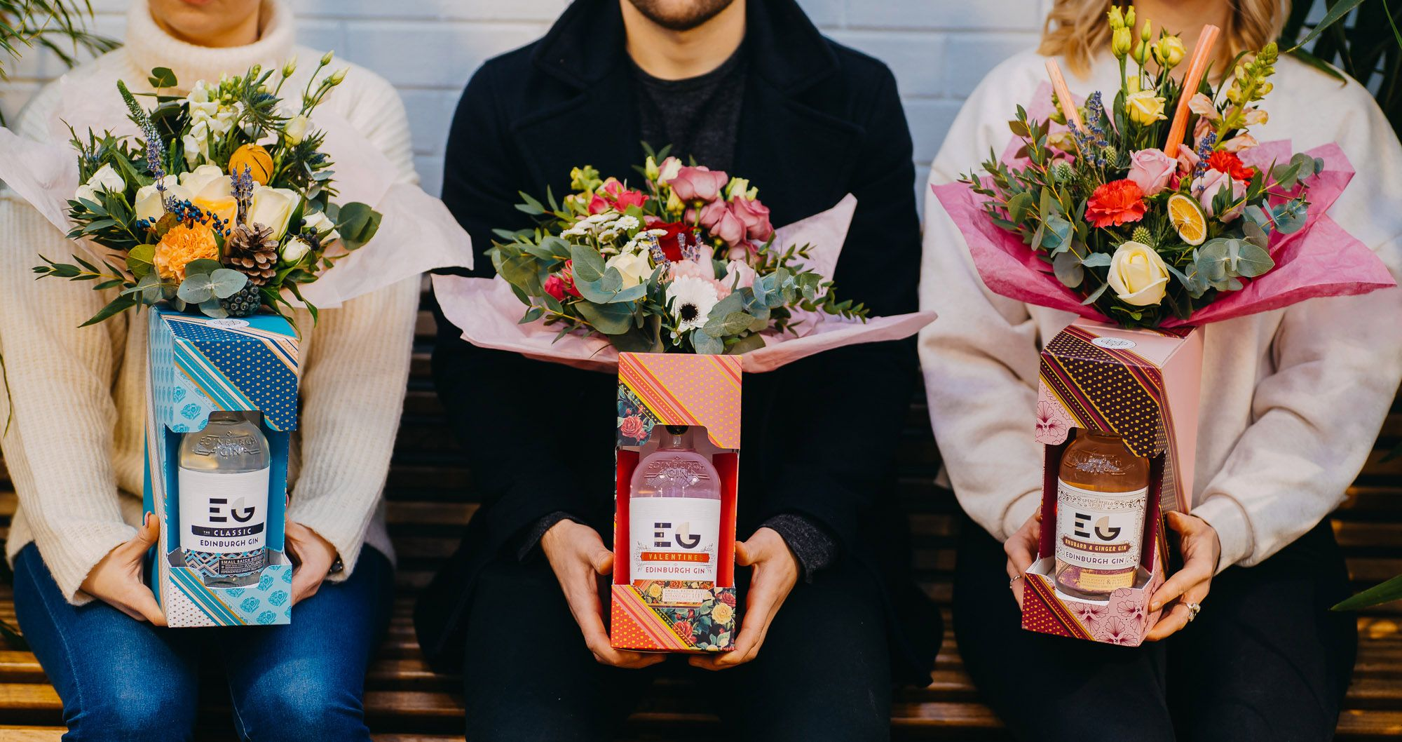 Gin bouquets make for an ideal Valentine's gift
