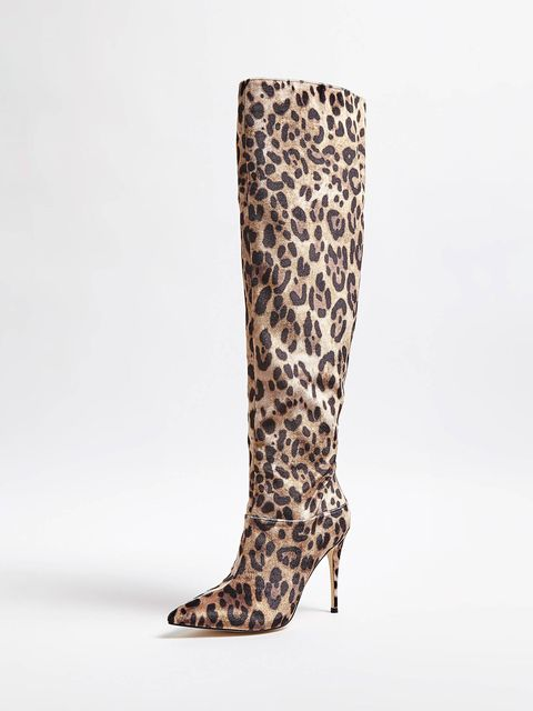 botas leopardo guess