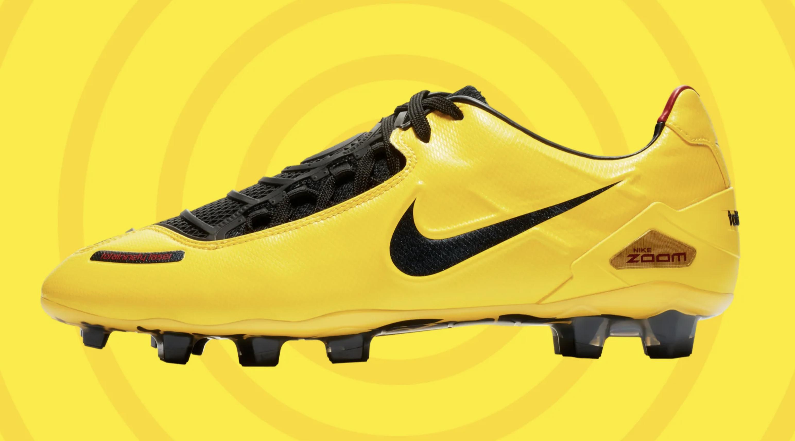 Nike lanza la reedición limitada de las botas de fútbol Nike ...