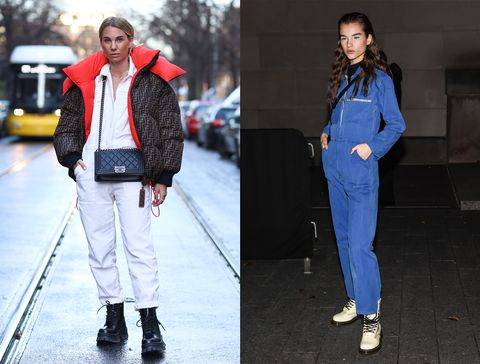 94a920d8b0 Junto al mono de trabajo (otro de los  must  de la temporada) firma una de  las grandes alianzas  fashion  del invierno.Getty Images
