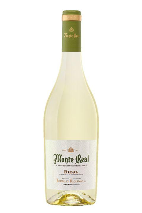 vino monte real blanco fermantado en barrica