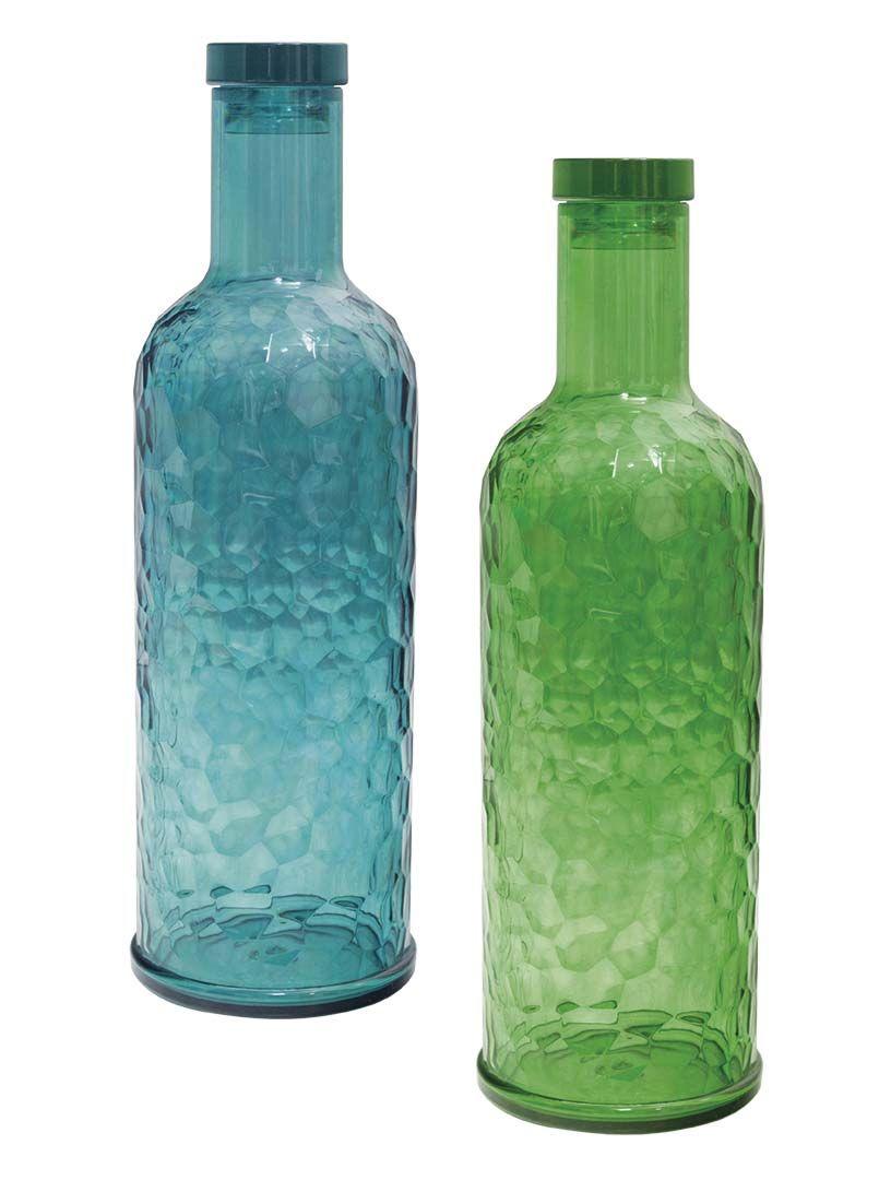 Botellas de cristal con tapón