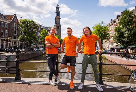 De mannen van Flagship Amsterdam