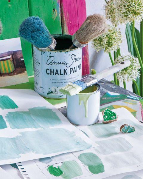 Pinturas a la tiza: chalk paint