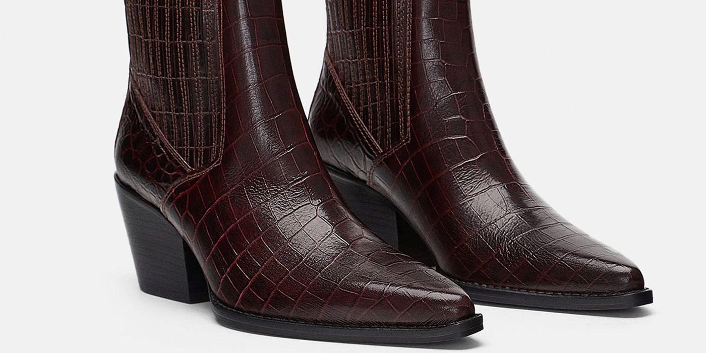 bb22aaf738 ¿Qué tienen estos botines  cowboy  de Zara que se han agotado en una semana