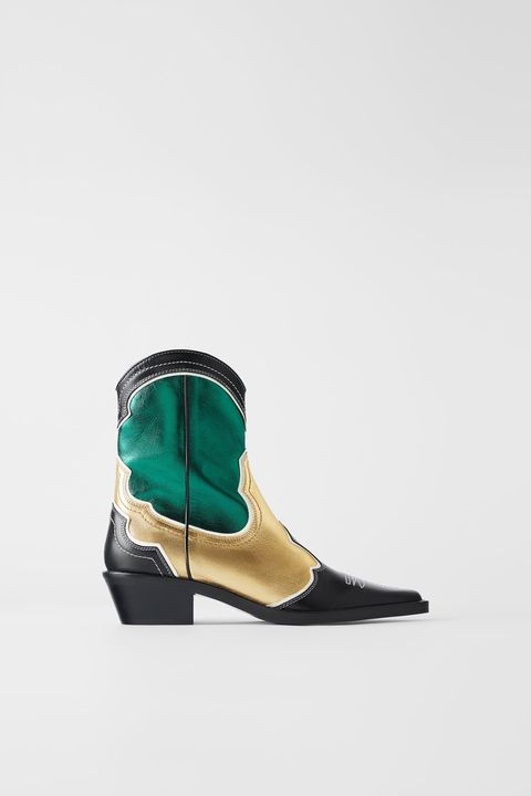 Footwear, Shoe, Green, Boot, Turquoise, Teal, Beige, Fashion accessory, Wedge, Turquoise,
