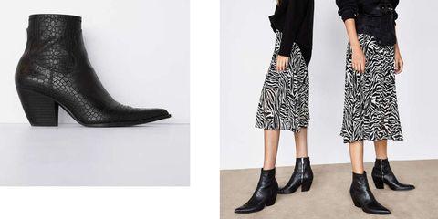 gran venta 24252 9471f Zara y Bershka tienen los botines de piel de este otoño