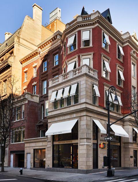 Il nuovo store di Bottega Veneta a Manhattan.