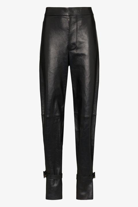 bottega veneta trousers, best leather trousers