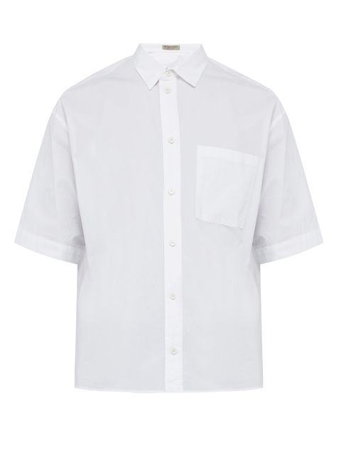 Camisas hombre manga corta lisas