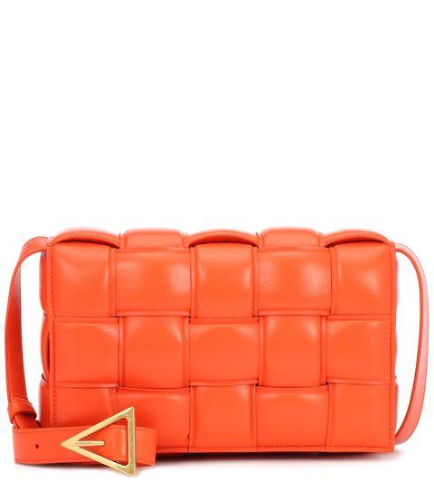 bottega veneta padded cassette leather shoulder bag