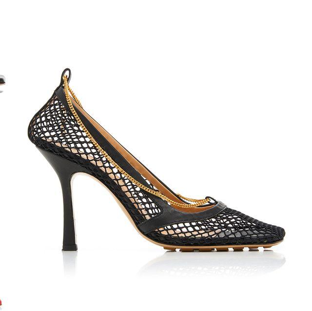 Footwear, High heels, Basic pump, Shoe, Sandal, Leg, Court shoe, Bridal shoe,