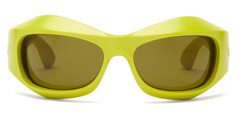 bottega veneta mask acetate sunglasses £285