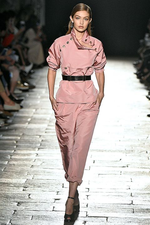 Clothing, Leg, Fashion show, Human body, Shoulder, Joint, Runway, Fashion model, Style, Waist,