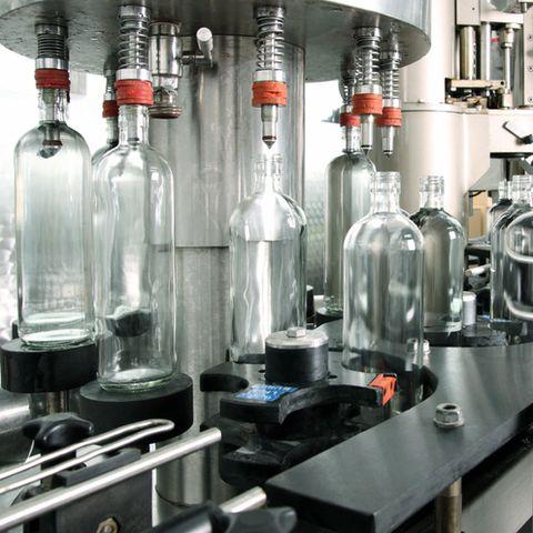 Bottling plant detail.