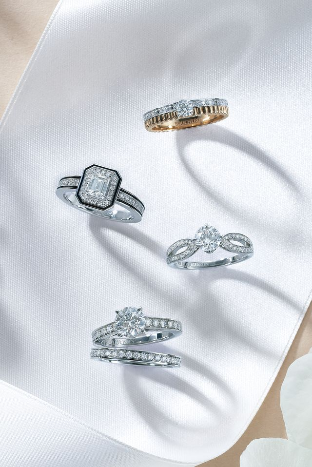 ステータスブランドのときめき婚約指輪♡<ブシュロン編>