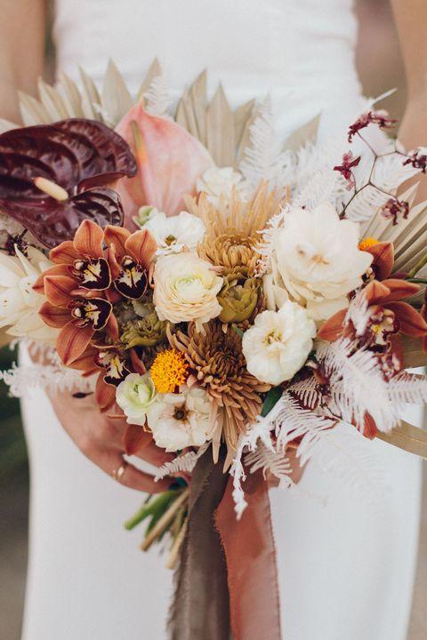 best fall wedding flowers