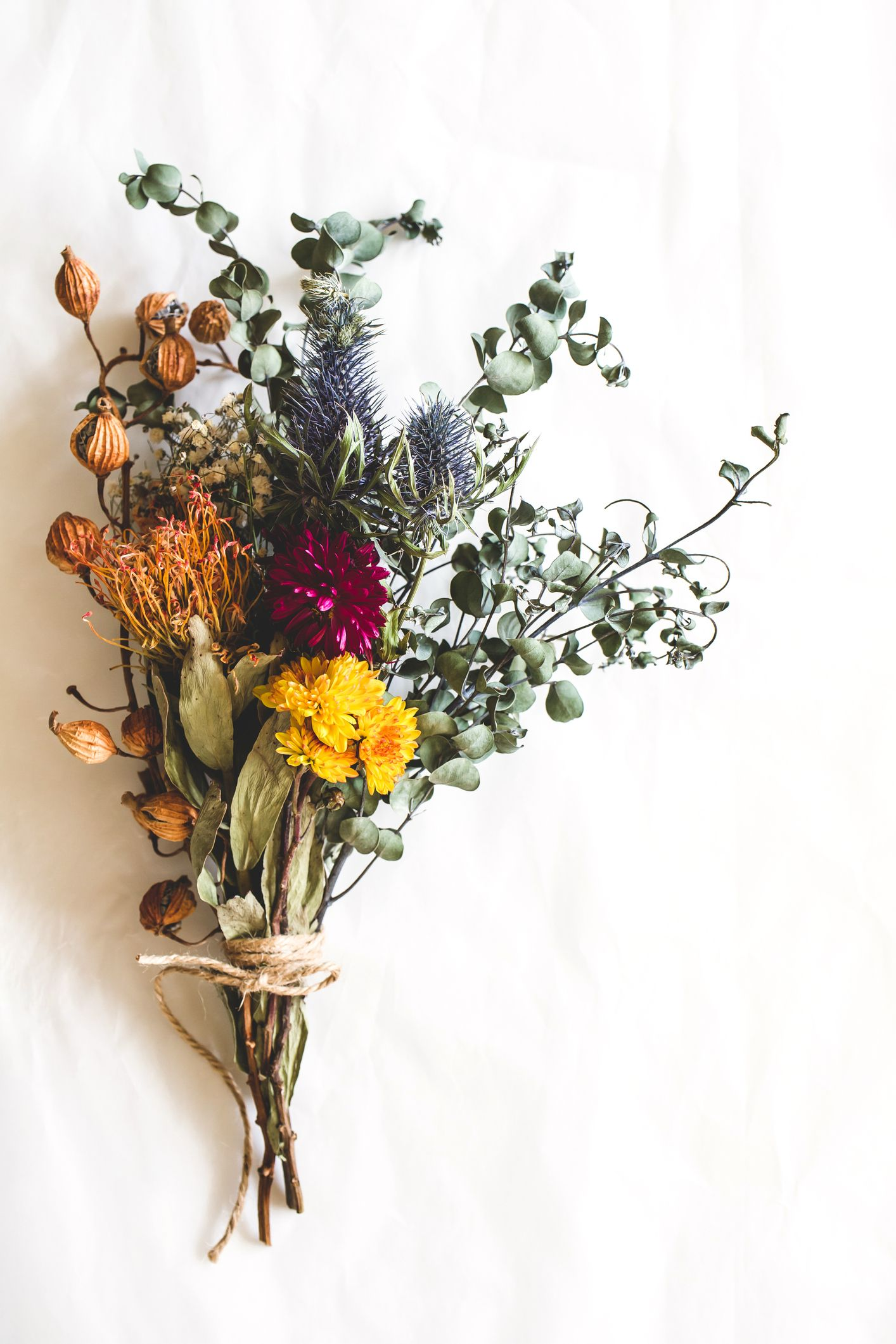 How To Dry Flowers Preserve A Bouquet Or Single Blooms