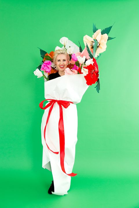 Bouquet Emoji Halloween Costume