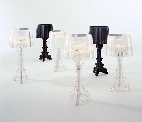 Bourgie di Kartell: la lampada best seller di Ferruccio Laviani