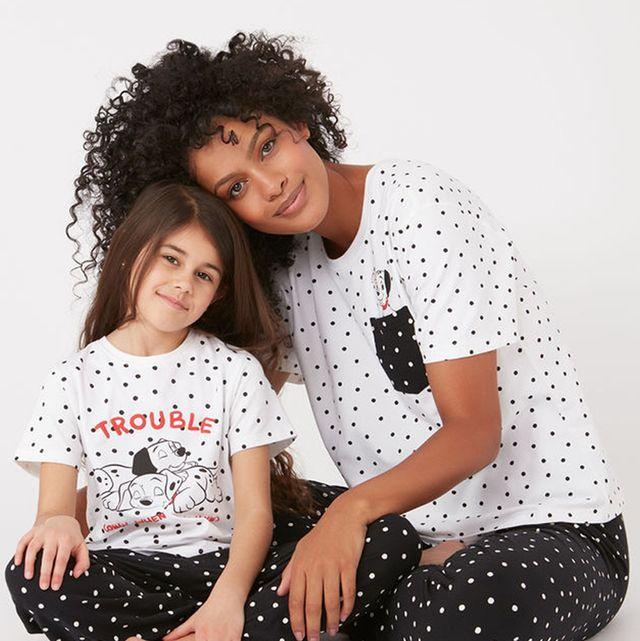 Boux Avenue matching mother daughter pyjamas