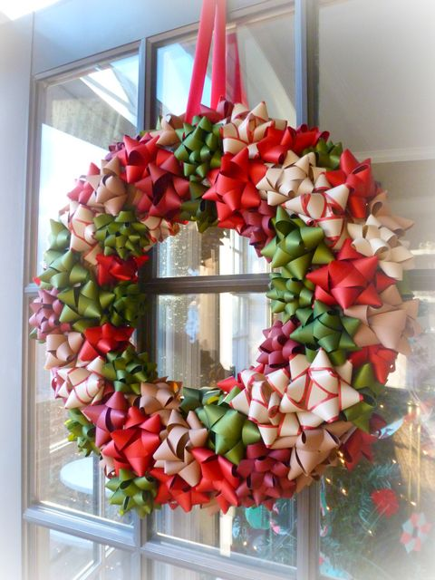 Paper Christmas Wreath Ideas.80 Diy Christmas Wreaths How To Make Holiday Wreaths