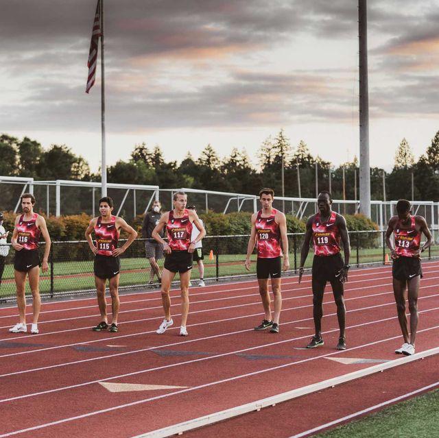 bowerman track club secret race on june 30, 2020