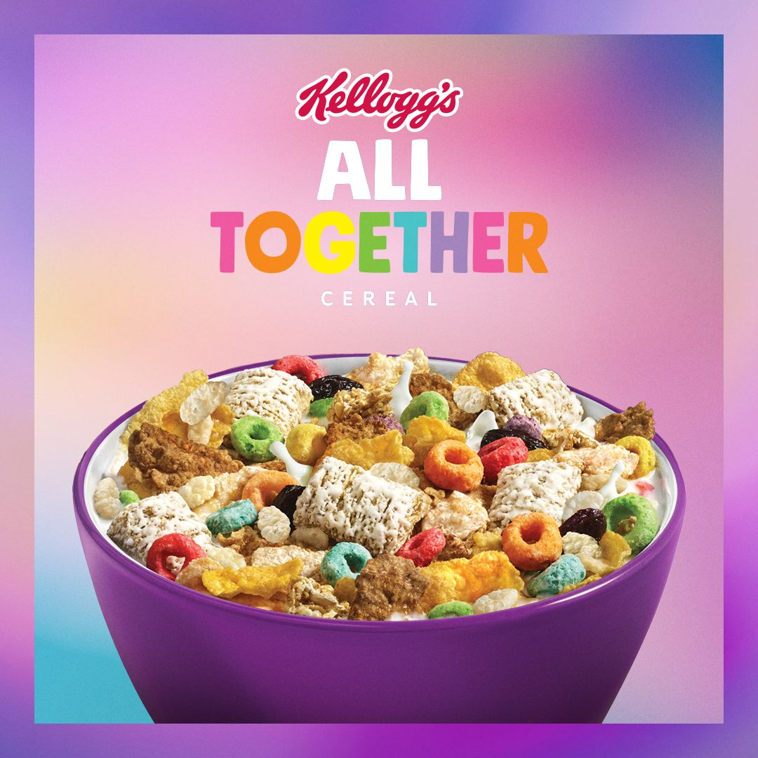 Kellogg's Made A Box That Has 6 Different Types Of Cereals In It And You Can Only Get It For One Day