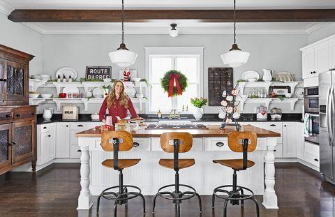 bowlin christmas kitchen