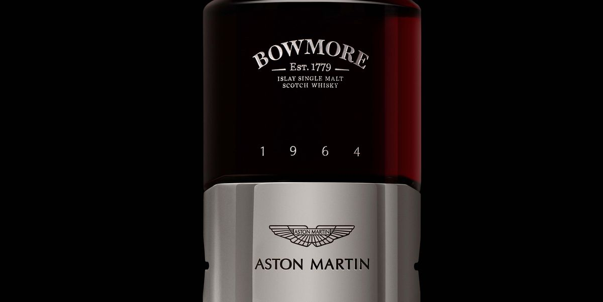 Aston Martin and Bowmore Are Teaming Up to Make Whisky, But You'll Never Try It