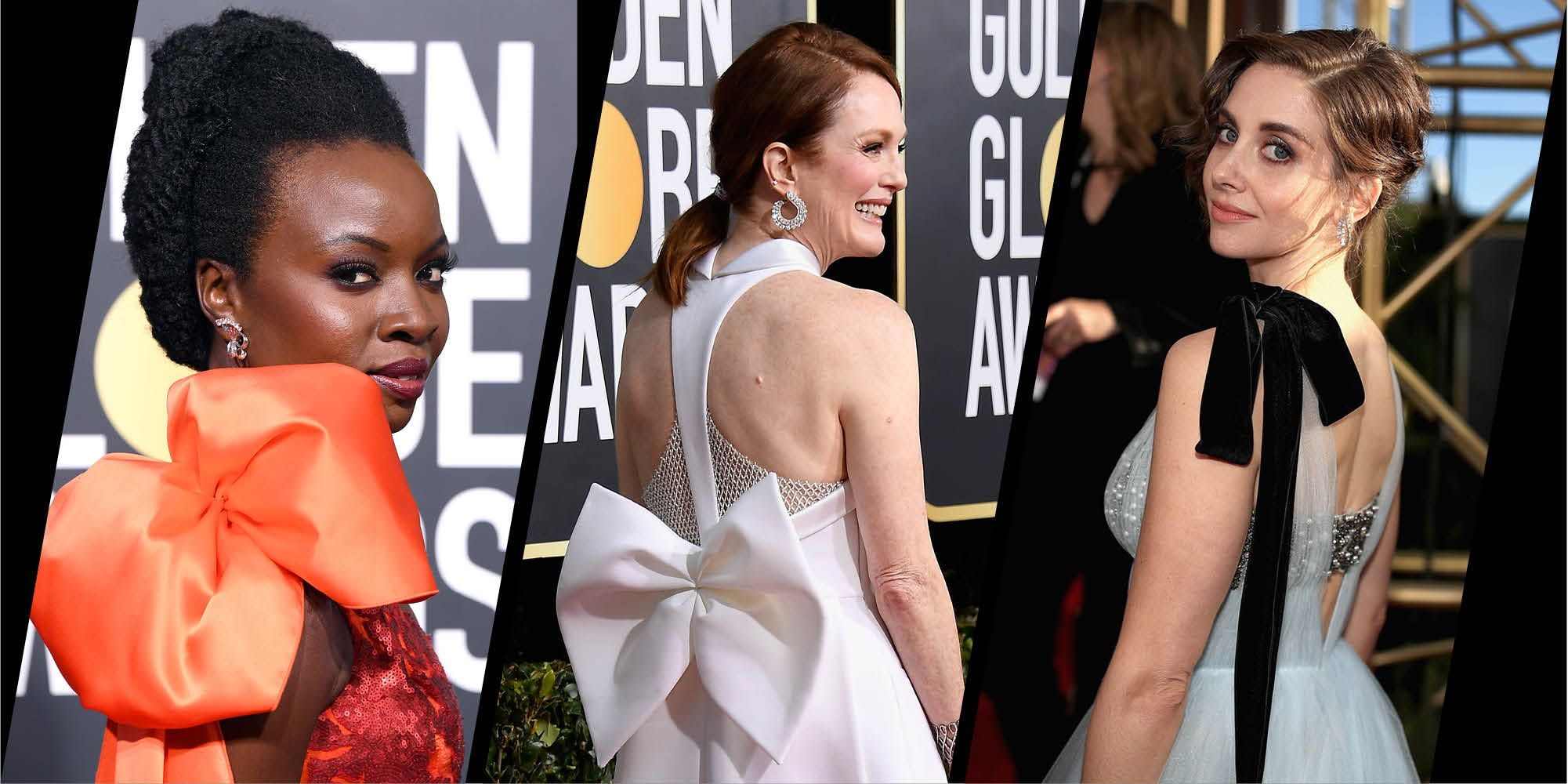 Bows at the Golden Globes