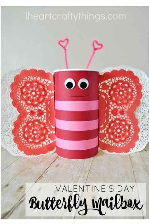 Butterfly Valentine's Day Box