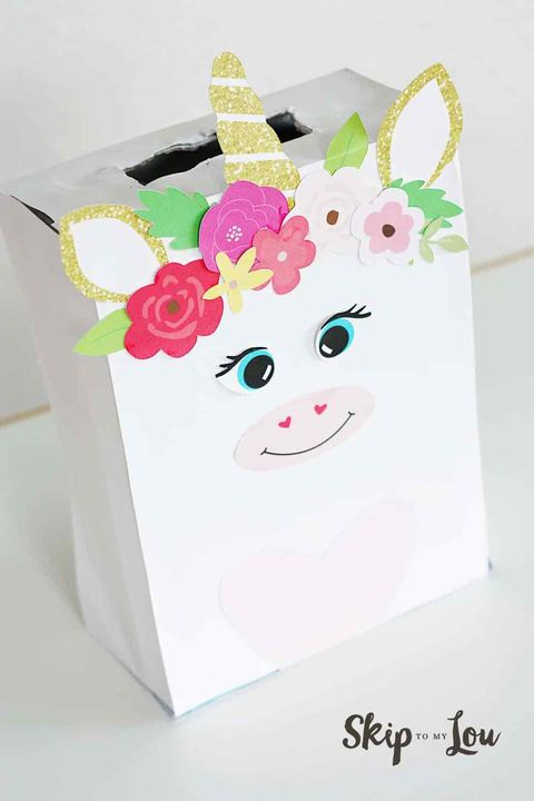 Unicorn Valentine's Box