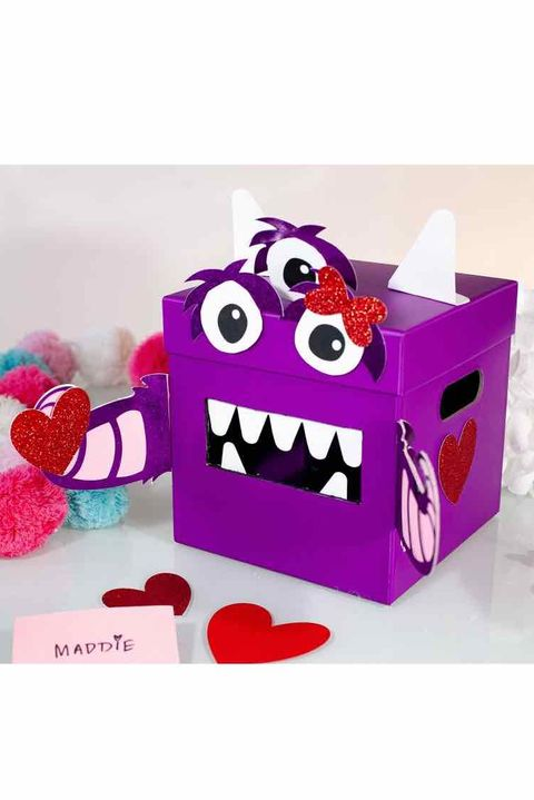 Monster Valentine's Box