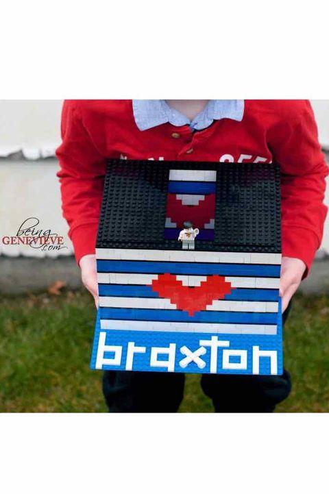 lego valentine's box