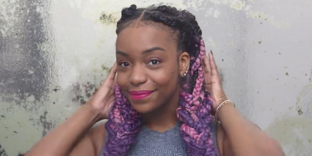 6 Cool Box Braid Hairstyles We Love Cute Ways To Style Box Braids