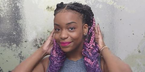 Box Braids Lay Your Edges