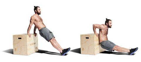 leg, muscle, arm, barechested, sitting, human body, knee, elbow, furniture, abdomen,