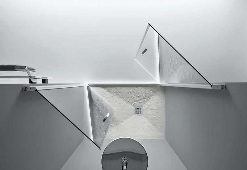 Box doccia e soffioni tra le novità arredo bagno di design