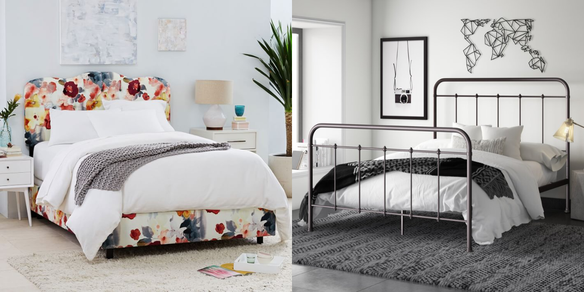 10 Stylish Bed Frames That Actually Work With a Box Spring
