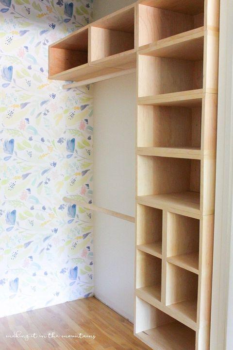 box style closet organizer