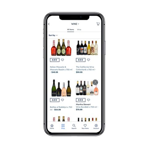 Boxed Wholesale and Alcohol Delivery App