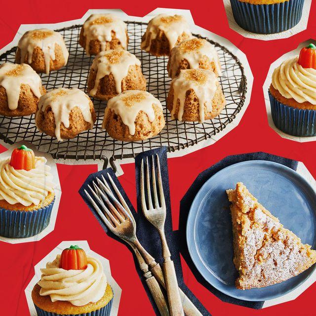 cupcakes pumpkin pie bundt cakes