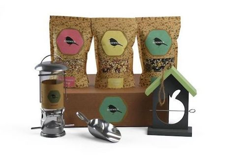 Boxwild bird feeder set