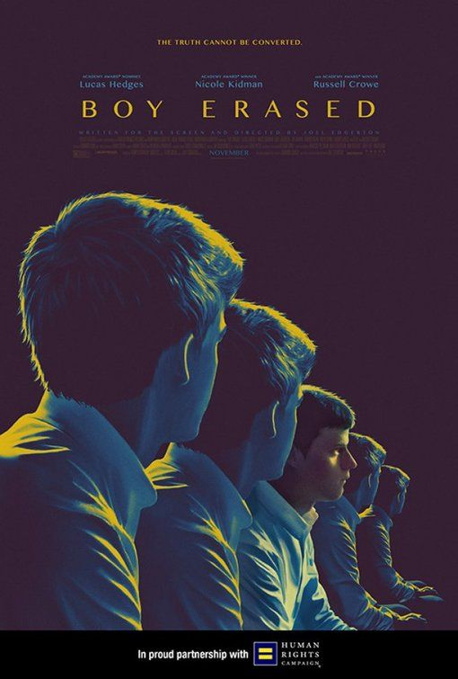 Posters Boy Erased