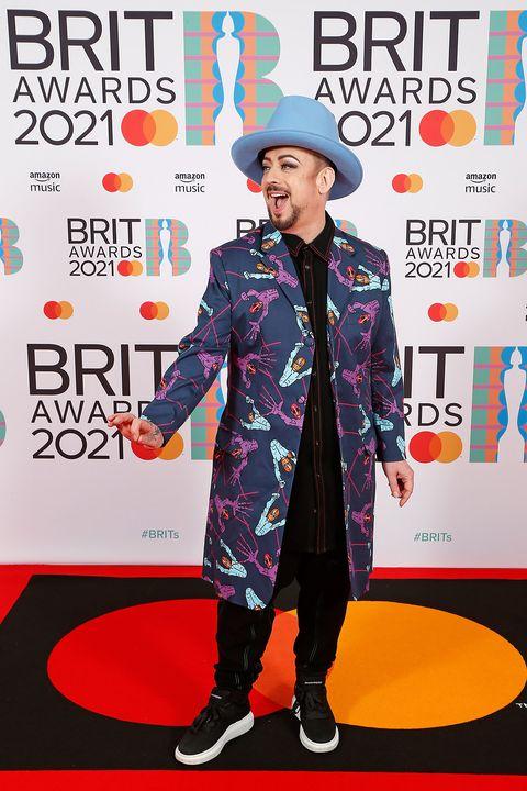 boy george en los brit awards 2021