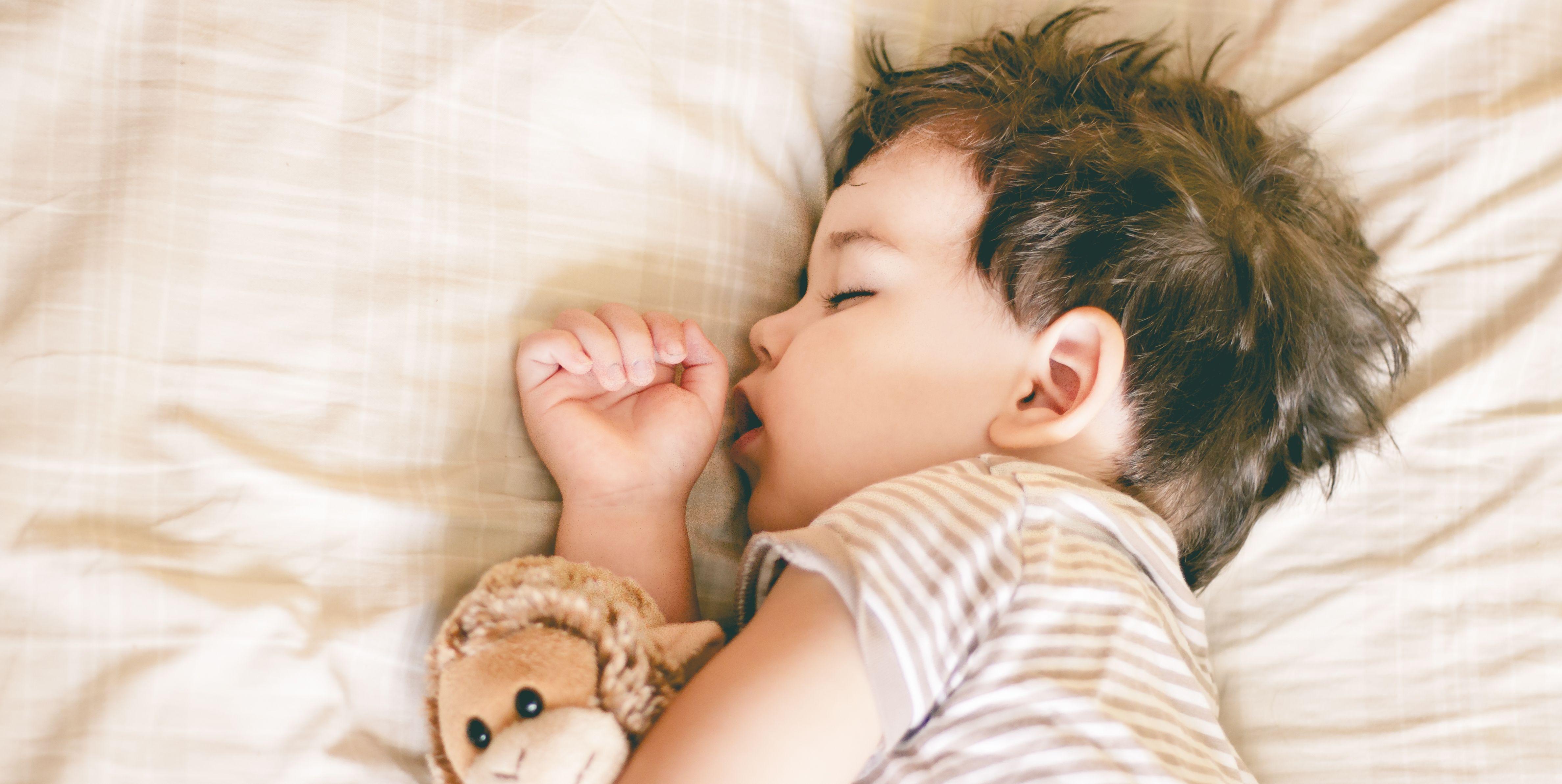 relajación para dormir mejor a los niños