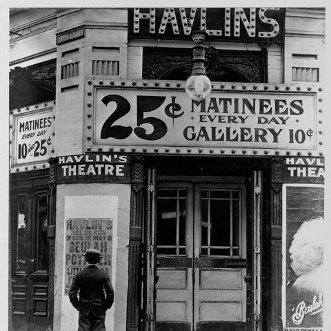 havlin's theatre, st louis, missouri, 1910
