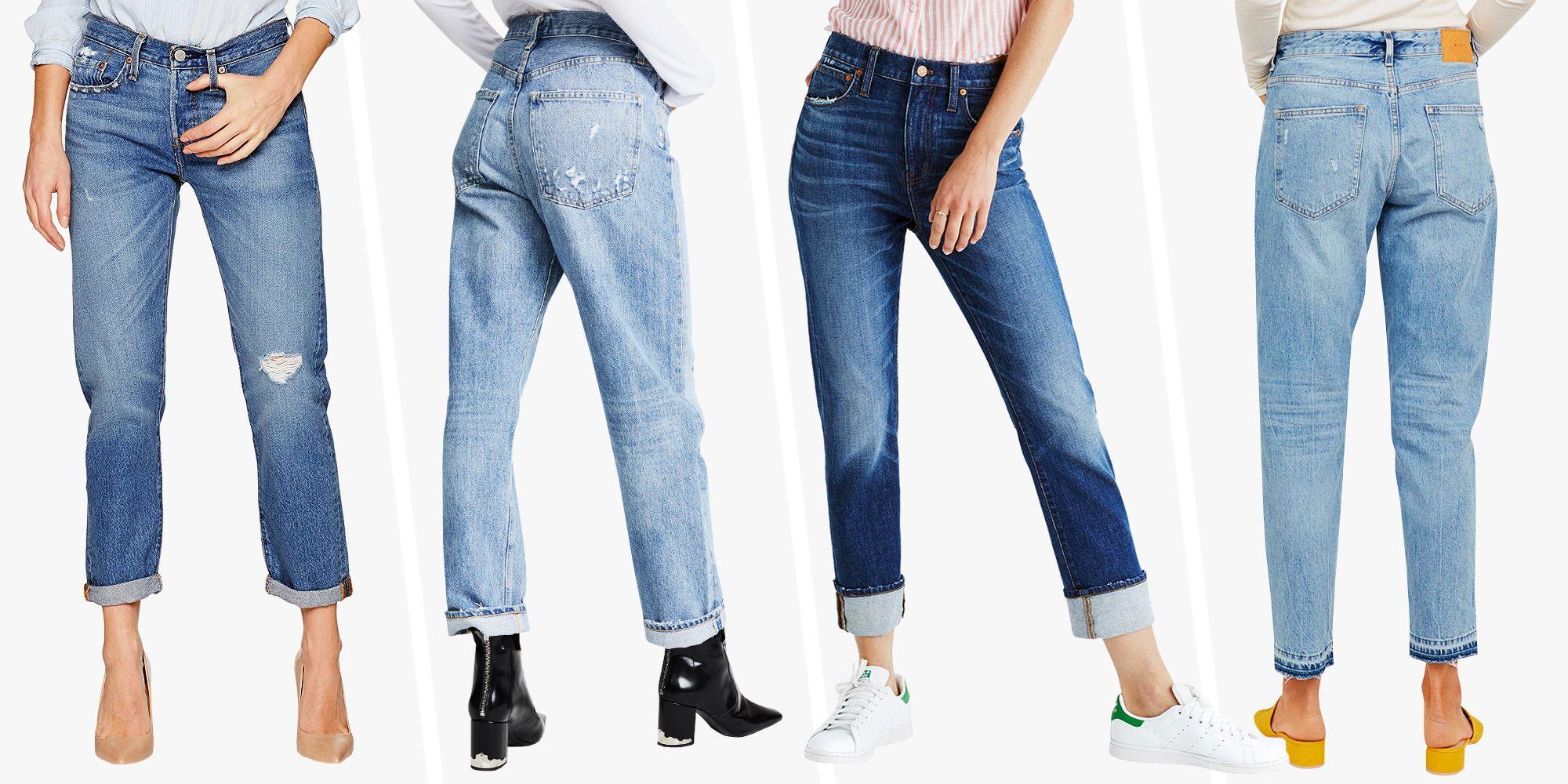 10 Best Boyfriend Jeans For Women Cute Boyfriend Jean Styles For 2018