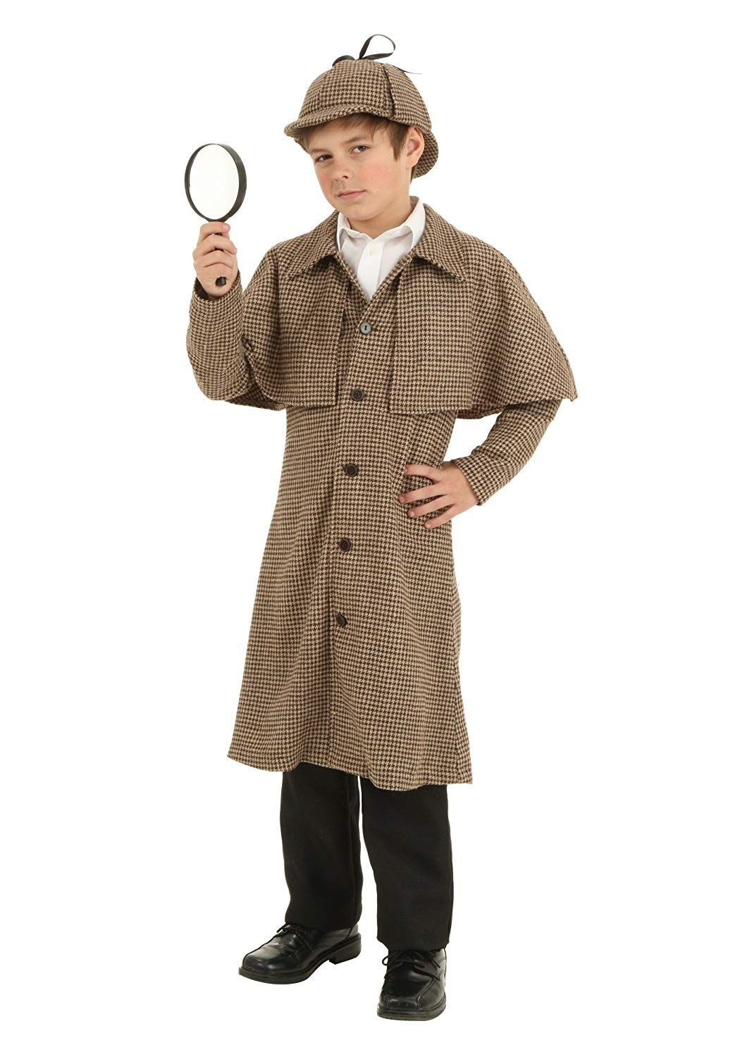 sherlock holmes boys halloween costume  sc 1 st  Womanu0027s Day & 18 Best Boysu0027 Halloween Costumes for 2018 - Cool Costume Ideas for Boys